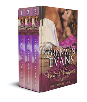 Wicked Wagers : The Complete Trilogy Box Set