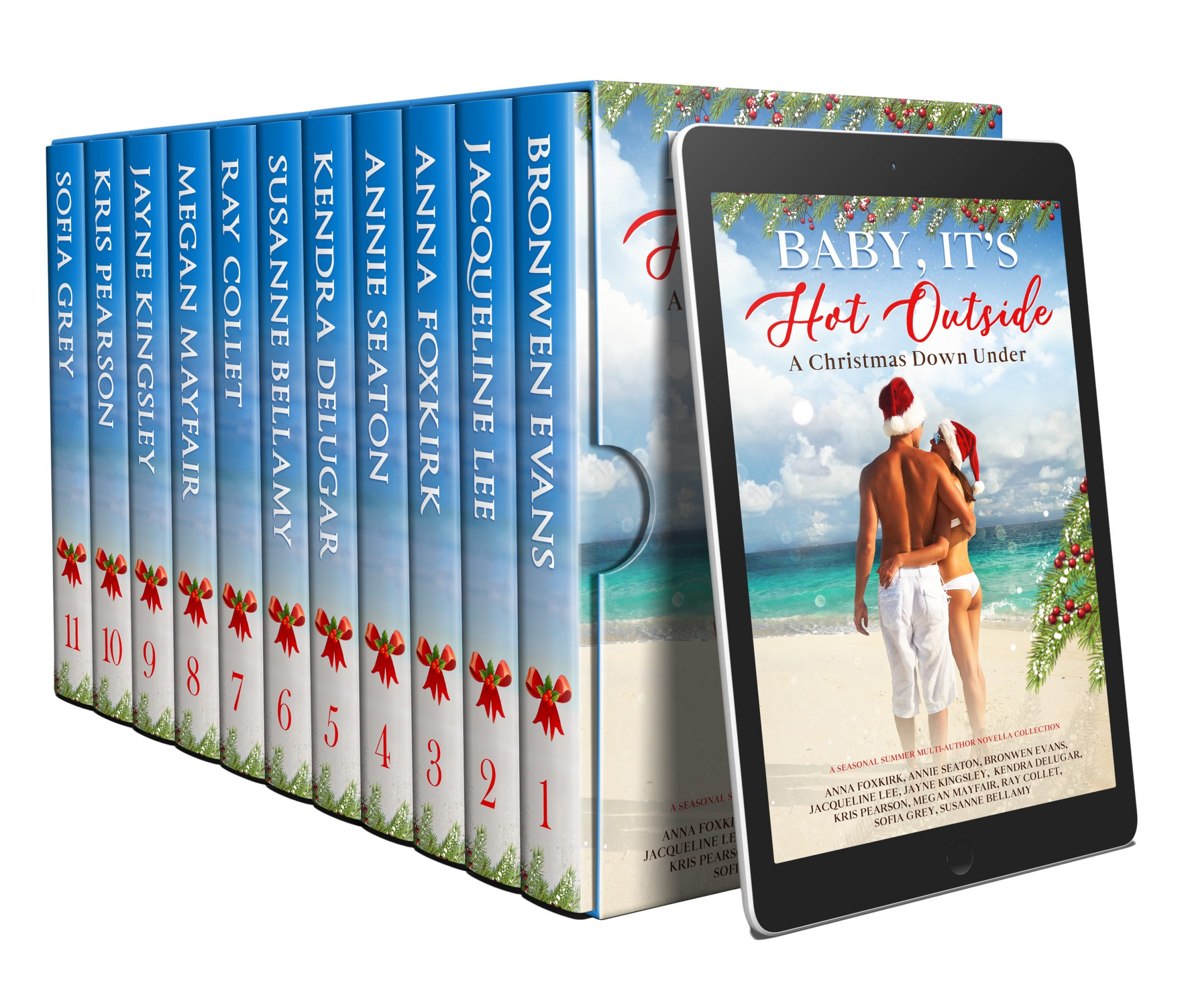 Excerpts : Baby It's Hot Outside Boxed Set
