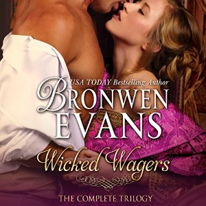 Wicked Wagers Box Set on Audiobook