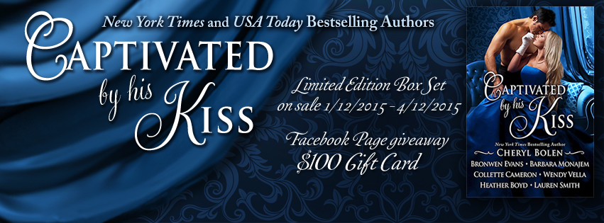 Captivated by His Kiss Facebook banner